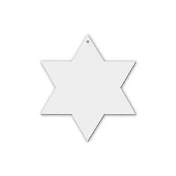 Conjunto de 4 Tazas Stacker Sublimación 250 ml Color Blanco Soporte Metálico