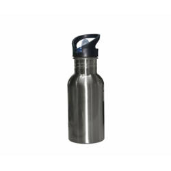 Taza Con Cucharita JS Coating Sublimación 330 ml Color Azul Claro