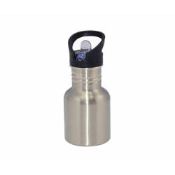 Taza Con Cucharita JS Coating Sublimación 330 ml Color Naranja