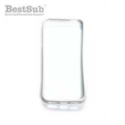Taza Con Cucharita JS Coating Sublimación 330 ml Color Rojo