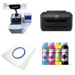 Taza FUNNY JS Coating Sublimación 330 ml Interior y Asa Color Naranja + Caja Individual