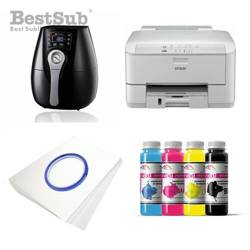 Taza FUNNY JS Coating Sublimación 330 ml Interior y Asa Color Negro + Caja Individual