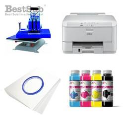 Tinta Best Sub HQ para cristales, color Cyan 1000 ml