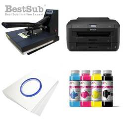 Tinta sublimación J-Teck J-Next color Absolut Black 1000 ml