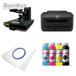 Tinta sublimación Prim Jet Color, color Black 1 litro